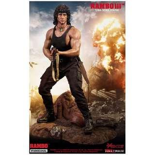 PRE-ORDER : TBLeague PL2018-118 - Rambo III 1/4 Scale Premium Statue