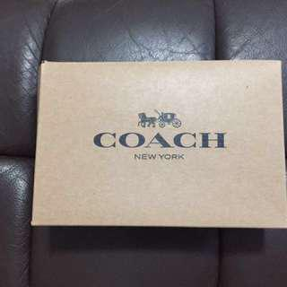 Coach pink handphone wristlet