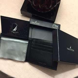Authentic Nautica Leather Wallet