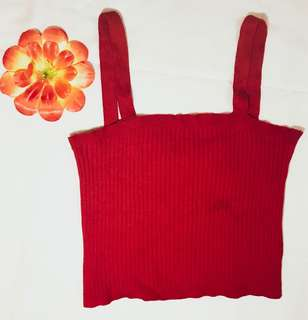 Forever 21 RED CROP TOP 💃🏻