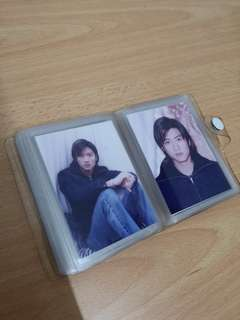 Nicholas Tse young photo album