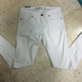 Jeans putih Cool Jeans
