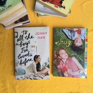 Jenny Han Signed Books