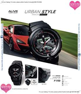 Urban Style Watch