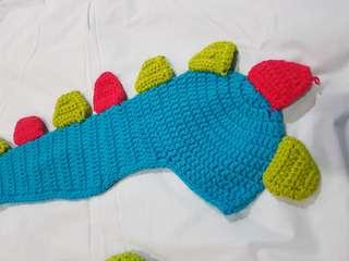 Dinosaurus Crochet/Rajutan Dino