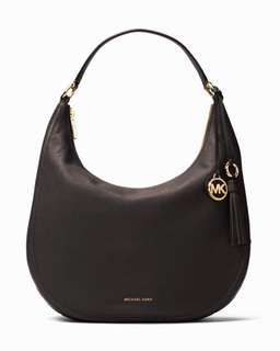 MICHAEL KORS Lydia Leather Shoulder Bag