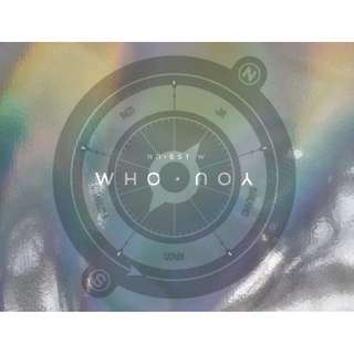 [Pre-Order] NUEST W 뉴이스트 W - WHO, YOU (WHO VER. / YOU VER.)
