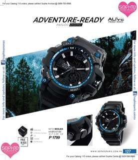 Adventure- Ready Watch