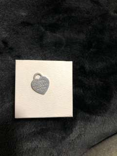 Tiffany and co necklace charm