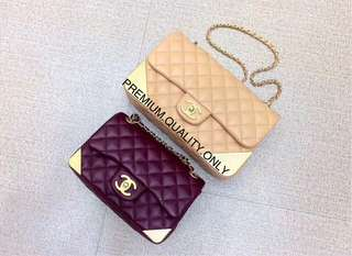 Chanel Studded Corner Flap bag