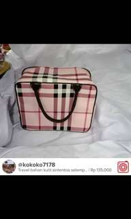Travel bag bahan kulit