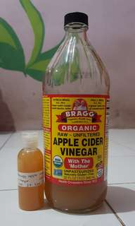 [REPRICE] Bragg Apple Cider Vinegar (Cuka Apel) 60ml