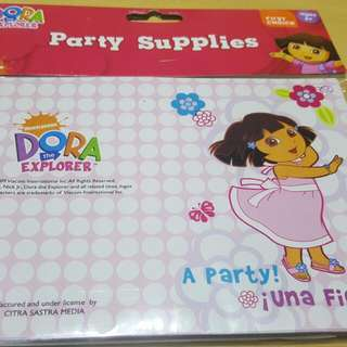 DORA Birthday Party Invitation Cards  Brand New In Pack  12 Cards With Envelopes in a pack   Lots Of Packs Available