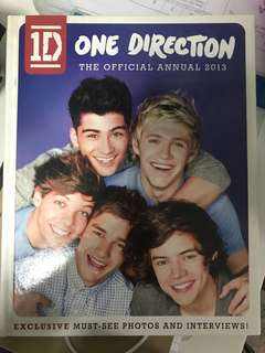 One Direction Annual Book