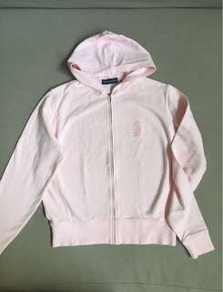 The Ritz Carlton Light Pink Jacket with Hoodie