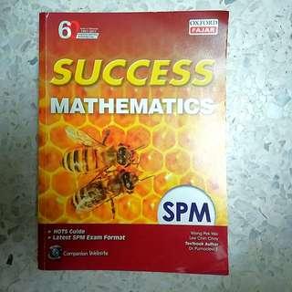 NEW Success Mathematics SPM book