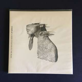 Coldplay : a rush of blood to the head lp