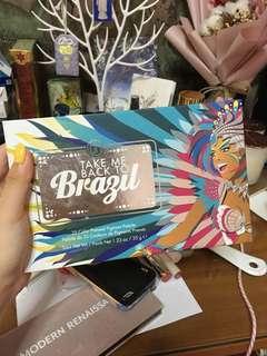Take Me To Brazil Palette
