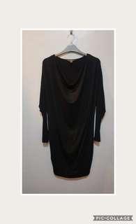Tommy Baham Black Knit Dress
