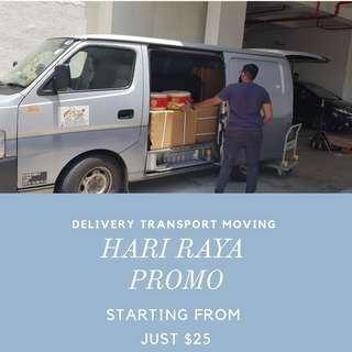 Moving and Delivery in Van