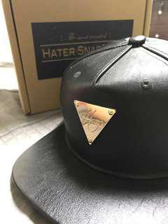 Hater皮革帽