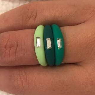 Rubber ring trio from Italy