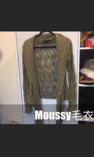 🚚 日本鏤空moussy針織衫
