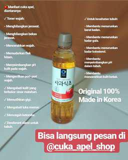 Apple Vinegar (cuka apel)