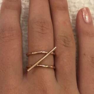 MIMCO rose gold ring