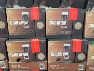現貨韓國人氣試管氮氣冷泡咖啡 Nitro Shot cold brew coffee GS25