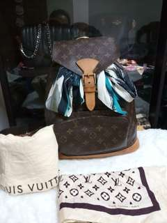 Authentic Lv Montsouris GM