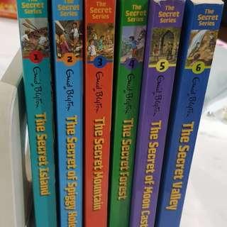 Enid Blyton The Secret Series