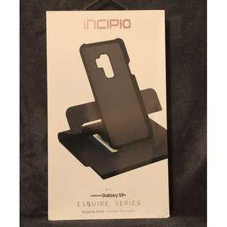 Genuine Incipio Esquire Series Fabric Rotating Folio Case for Samsung Galaxy S9+ Plus