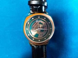 Bulova~ 寶路華 復刻版腕錶 需要電池 玫瑰金色 錶殼 42mm 全新,有紙有盒有吊牌