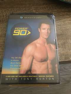 Beachbody Power 90 2 DVD set
