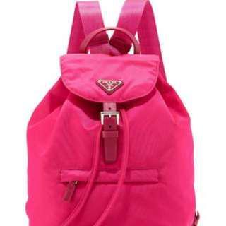 Preloved Prada Vela Tessuto Backpack b11012ff6cd07