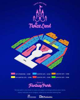 WTS (urgent) - Twiceland Cat1 x 2 (220, row 20)