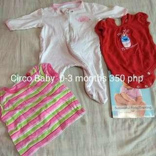 Preloved Circo Baby clothes