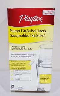 Playtex Bottle Liners disposable