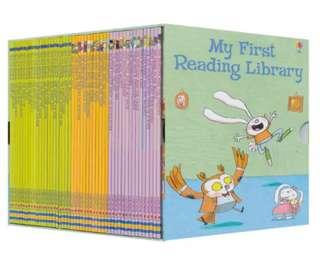 🚚 Usborne 50 books/Set My Early Reading Series 1/2