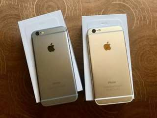 IPhone 6 (silver, space grey, gold)