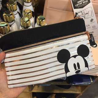 Typo Mickey Pencil Case