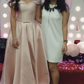 Colorbox white dress
