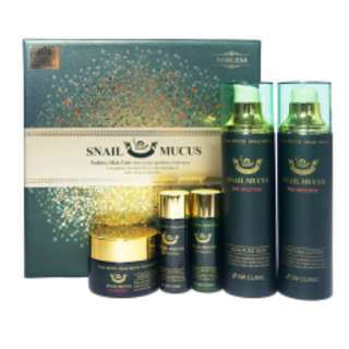 3W CLINIC SNAIL MUCUS 3 KINDS OF GIFT SET