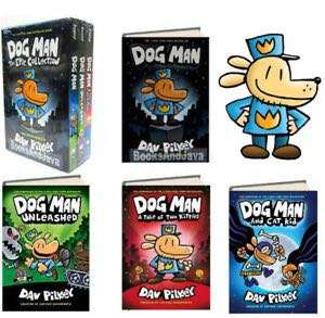 Dog Man Book 1-4
