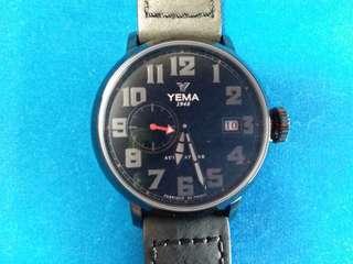 Yema, 法國耶馬 ,法國制造(Fabrique En France )機械自動 全新 有吊牌,沒有原裝盒
