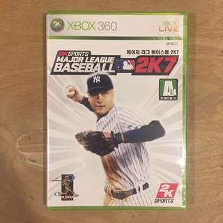 Xbox 360 2K Sports Major League Baseball