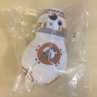 BN ✈️SINGAPORE AIRLINES✈️ SQ Star Wars BB-8 Robot Plush Toy