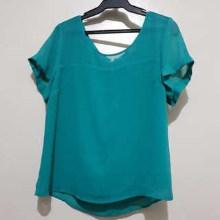 Forever 21 Large Blouse
