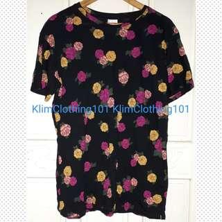 Unisex Floral Top